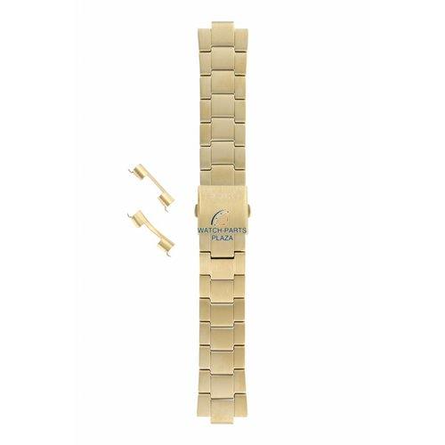 Seiko Seiko SBFG004J Horlogeband S760 0AB0 Goud 22 mm