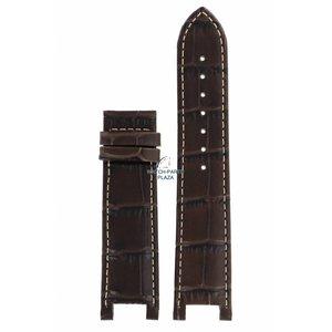 Guess Collection Coleção Guess X72026G1S pulseira marrom couro 22 mm