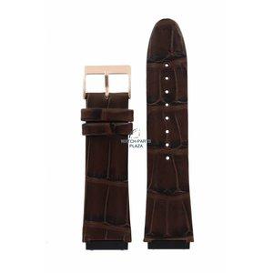 Guess Guess Rigor W0040G3 Banda de reloj correa de cuero marrón 22 mm