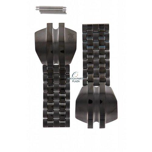 Diesel Diezel DZ-4084 horlogeband zwart staal 20 mm