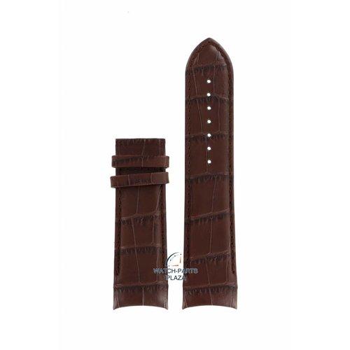 Tissot Tissot T035627A - T-Classic Horlogeband Bruin Leer 24 mm
