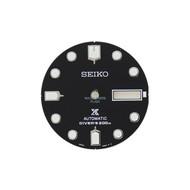 Seiko Seiko 4R3603K4XB13 wijzerplaat SRP585 zwart 4R36 03P0 MoHawk