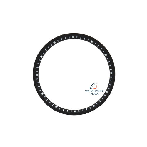 Seiko Seiko 84324537 anel de discagem SNZG39 & SNZG41 preto 7S36 03M0