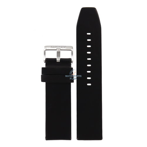 DKNY DKNY NY-2020 Watch Band Black Leather 24 mm