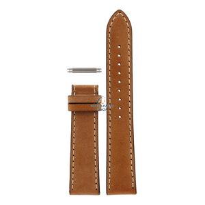 Armani Cinturino per orologio Armani AR-5324 in pelle marrone da 20 mm senza fermaglio