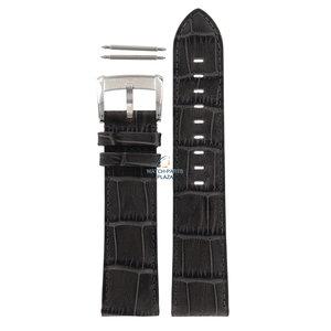 Armani Armani AR-4206 Uhrenband grau Leder 22 mm