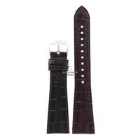 Armani AR-0403/0490 correa de reloj marrón cuero 22 mm
