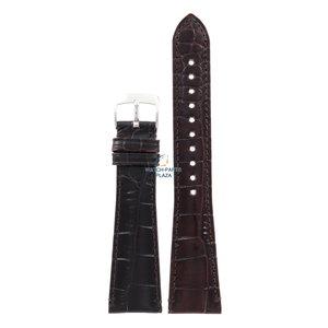 Armani Armani AR-0403/0490 Uhrenarmband braunes Leder 22 mm