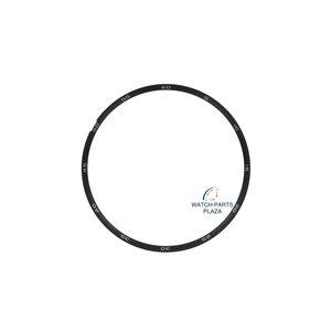 Seiko Seiko 83071514 anillo de dial 6139-6040 negro WAH107J1