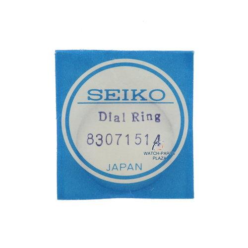 Seiko Seiko 6139 6040/6041 anillo de capítulo negro original de WAH105 / WAH107 83071514