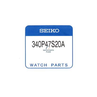 Seiko Saffier Glas Seiko 340P47S20A voor Presage 6R15-03E0 & 6R24 / 6R27 - 00F0, 00G, 00H0, 00J0