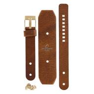 Diesel Diesel DZ-1019 watch band brown leather 16 mm