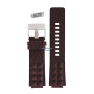 Diesel Diesel DZ-1105 watch band brown leather 18 mm