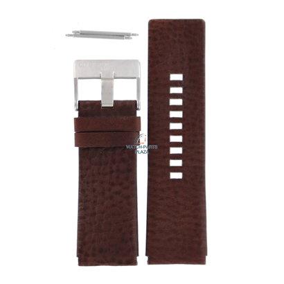 Diesel Horlogeband Diesel DZ1150 bruin lederen band 27 mm origineel