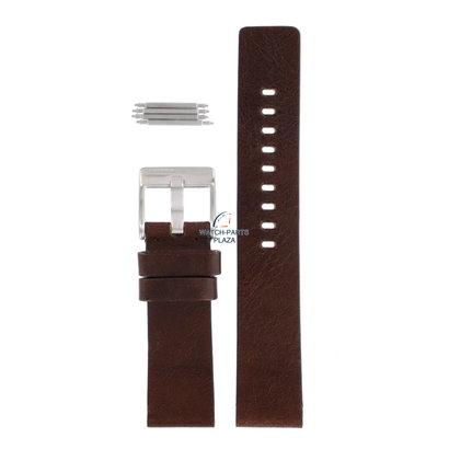 Diesel HorlogeBand Diesel DZ2088 bruin lederen band 26mm origineel