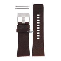 Diesel DZ-1314 correa de reloj marrón cuero 29 mm