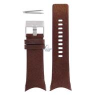 Diesel Diesel DZ-1153 horlogeband bruin leer 32 mm
