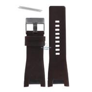 Diesel Diesel DZ-1216 watch band brown leather 32 mm