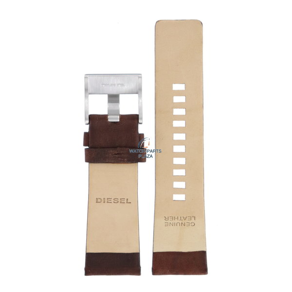 Diesel Horlogeband Diesel DZ1399 bruin lederen band 27mm Master Chief origineel