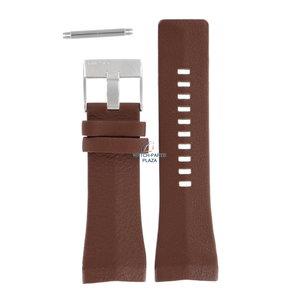 Diesel Diesel DZ-1341 watch band brown leather 30 mm