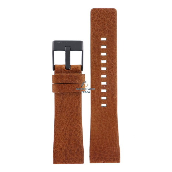 Diesel Horloge Band Diesel DZ1349 bruin lederen band 25mm originele zwarte gesp