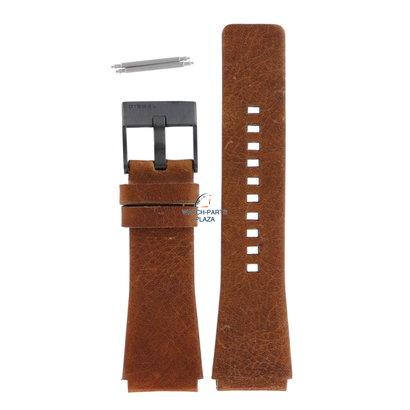 Diesel Horlogeband Diesel DZ1350 bruin lederen band 24mm origineel zwarte gesp