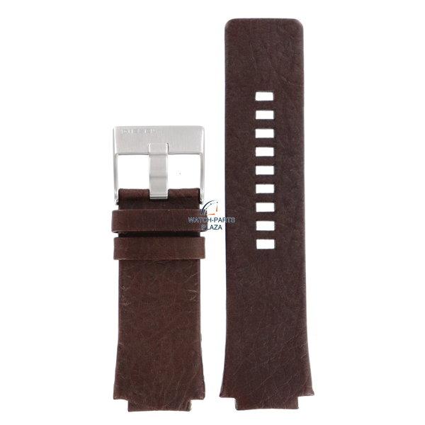 Diesel Horlogeband Diesel DZ1111 bruin lederen band 20mm origineel DZ-1111