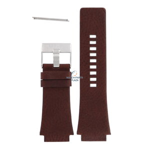 Diesel Bracelet montre Diesel DZ-1132 en cuir marron 24 mm
