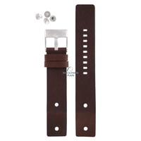 Diesel DZ-2146 horlogeband bruin leer 22 mm