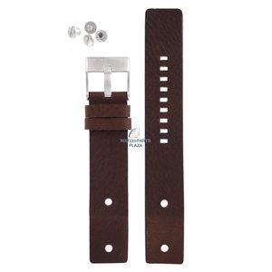Diesel Bracelet montre Diesel DZ-2146 cuir marron 22 mm