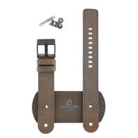Diesel DZ-2102 horlogeband bruin leer 20 mm