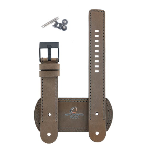 Diesel Diesel DZ-2102 horlogeband bruin leer 20 mm