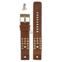 Diesel DZ-2124 horlogeband bruin leer 22 mm