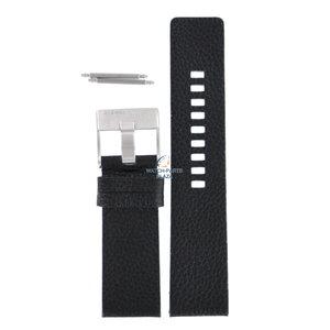 Diesel Diesel DZ-1147 horlogeband zwart leer 25 mm