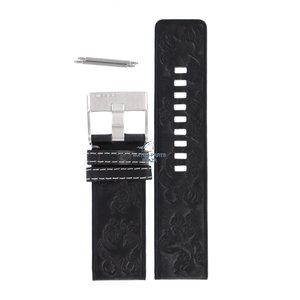 Diesel Diesel DZ-2136 horlogeband zwart leer 27 mm