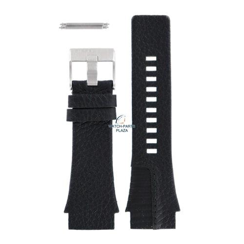 Diesel Diesel DZ-1397 horlogeband zwart leer 26 mm