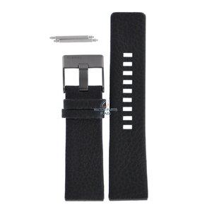 Diesel Diesel DZ-1187 horlogebandje zwart leer 26 mm