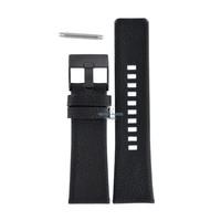 Diesel DZ-1657 horlogeband zwart leer 27 mm