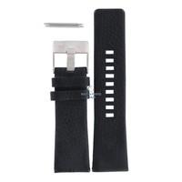 Diesel DZ-1207 horlogeband zwart leer 27 mm