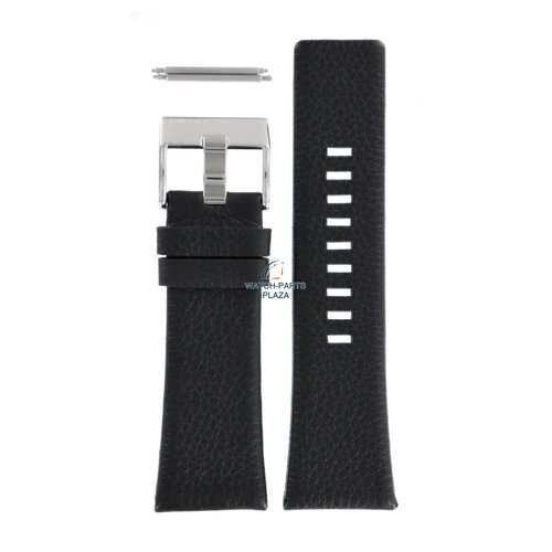 Diesel Diesel DZ-1230 horlogeband zwart leer 28 mm