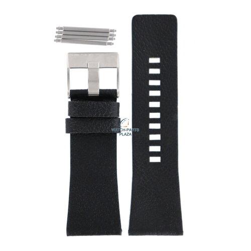 Diesel Diesel DZ-1313 horlogeband zwart leer 29 mm