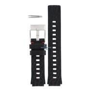Diesel Diesel DZ-2108 horlogeband zwart leer 16 mm