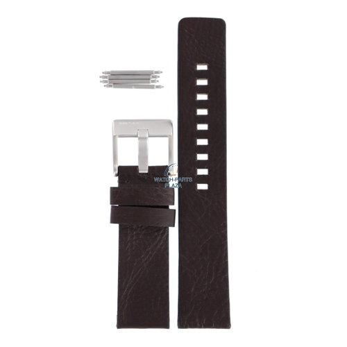 Diesel Diesel DZ-2038 horlogeband zwart leer 21 mm