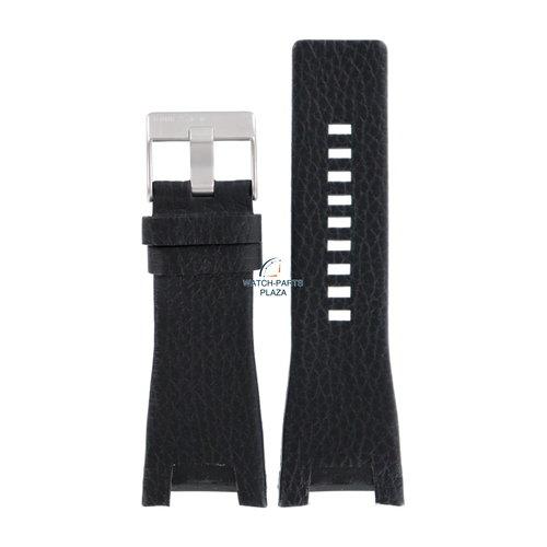 Diesel Diesel DZ-1215 horlogeband zwart leer 32 mm