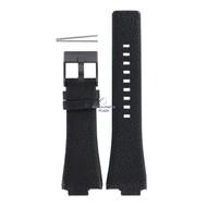 Diesel Diesel DZ-1102 horlogeband zwart leer 14 mm