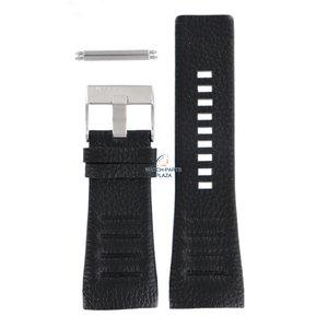 Diesel Diesel DZ-1276 horlogeband zwart leer 32 mm