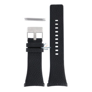 Diesel Diesel DZ-1156 horlogeband zwart leer 32 mm