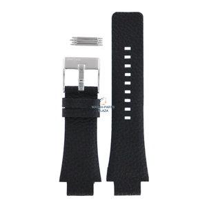 Diesel Diesel DZ-1174 horlogeband zwart leer 18 mm