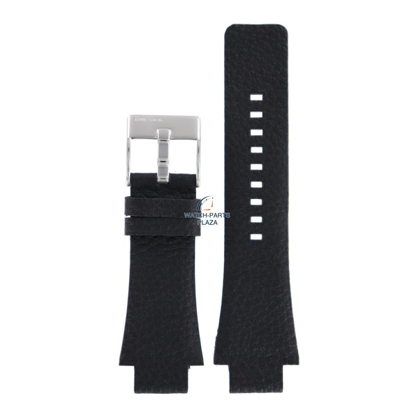 Diesel Horlogeband Diesel DZ1174 originele zwart leren band 18mm