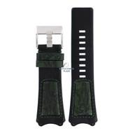 Diesel Diesel DZ-1073 horlogeband zwart leer 31 mm